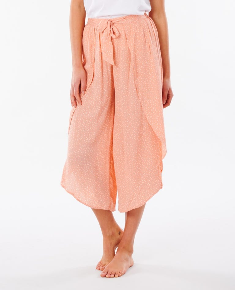 Tallows Spot Pant in Coral