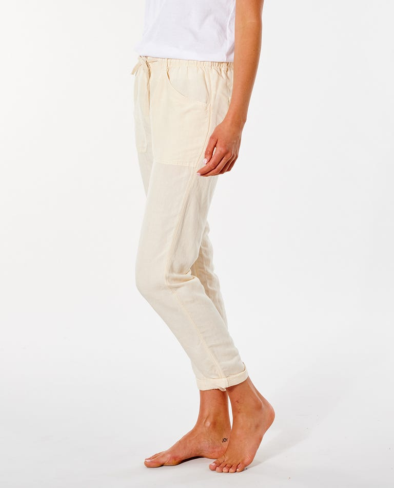 Panoma Pant in Off White