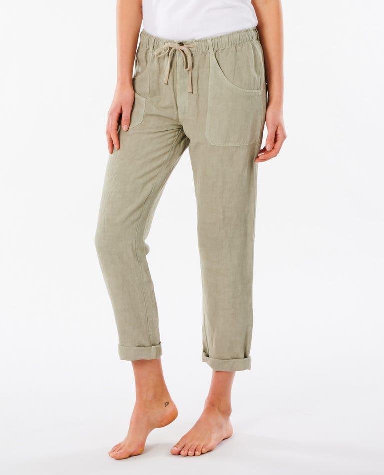 Panoma Pant in Stone Green