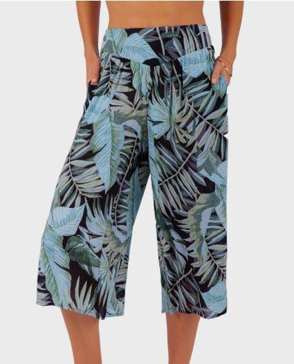 Palm Reader Crop Pant in Black
