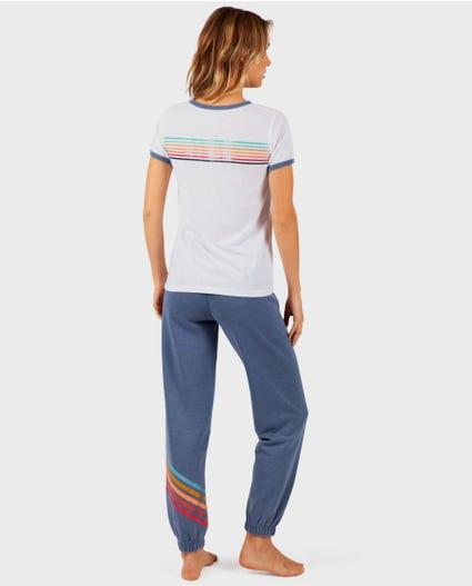 Surf Safari Pant in Slate Blue