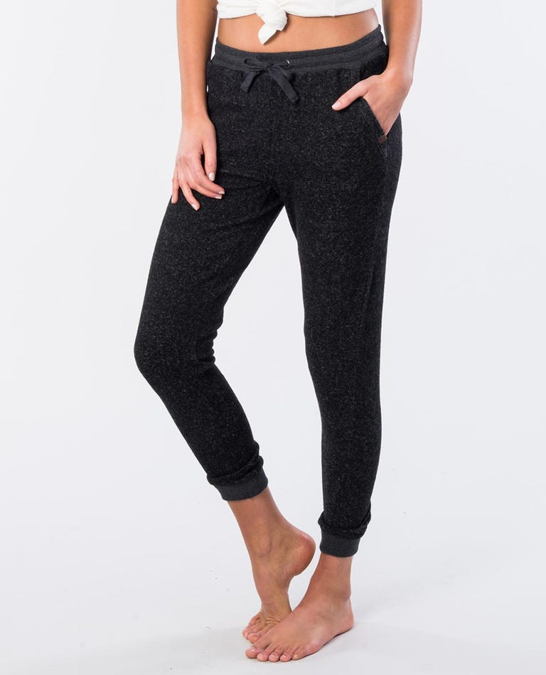 Cost Trackpant  in Black Marle