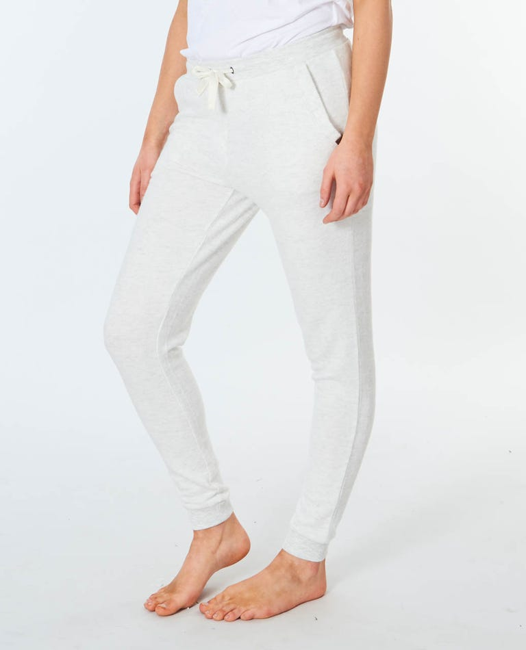 Cost Trackpant  in White Marle