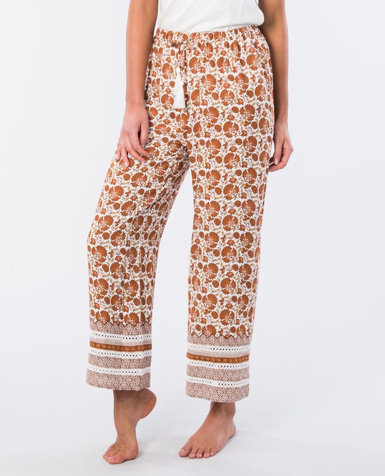 Spice Temple Relaxed Fit Pant in Orange