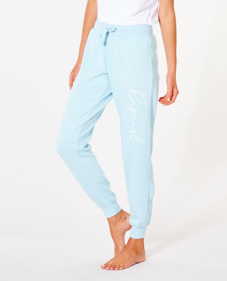 Classic Shore Trackpant in Light Blue