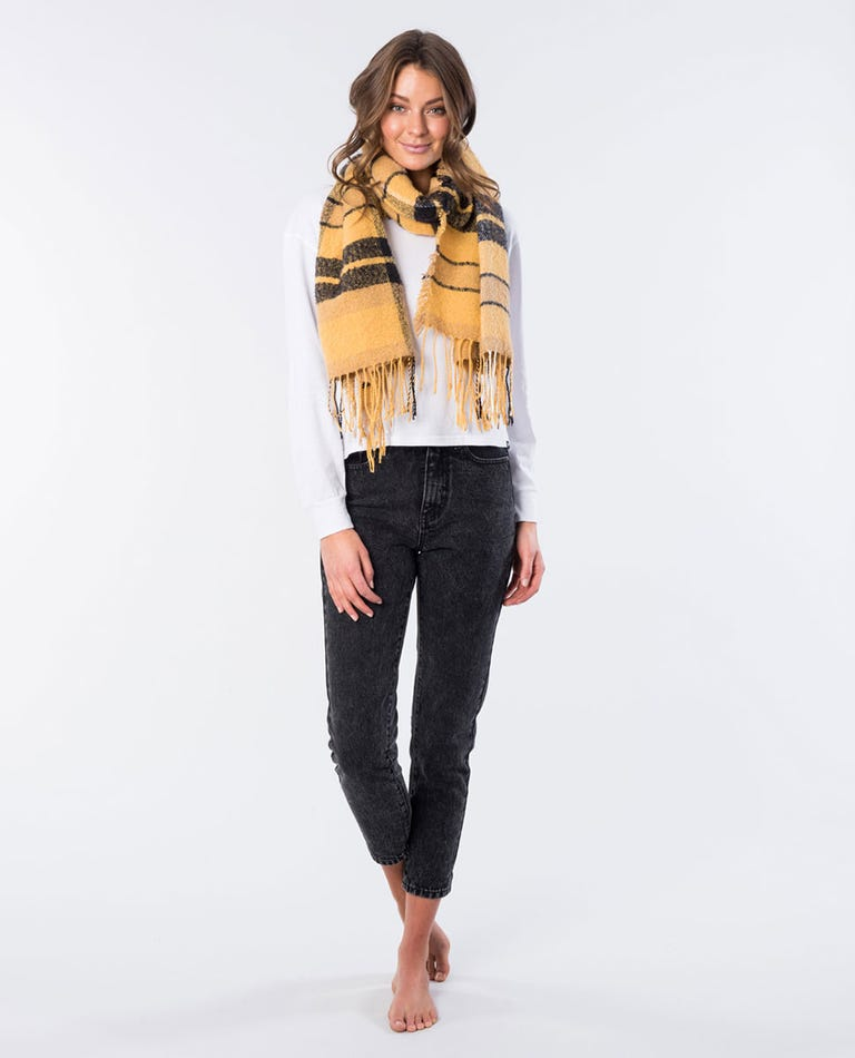 Laneway Super Soft Scarf in Yellow