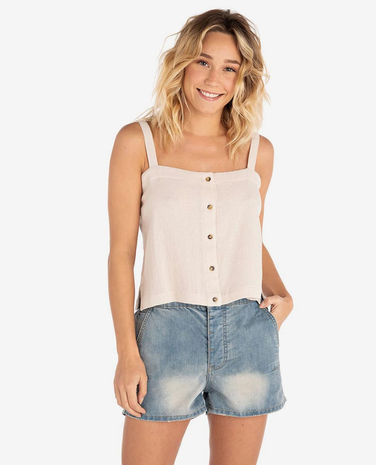 The Shape Shifter Cami in Taupe
