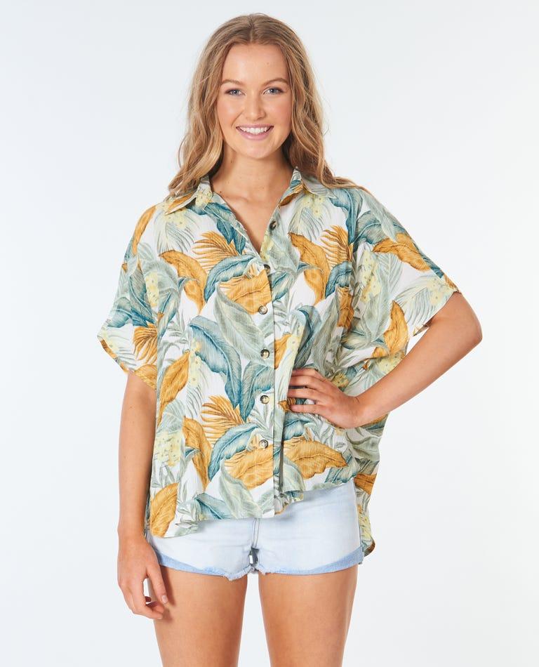 Tropic Sol Shirt in Vanilla