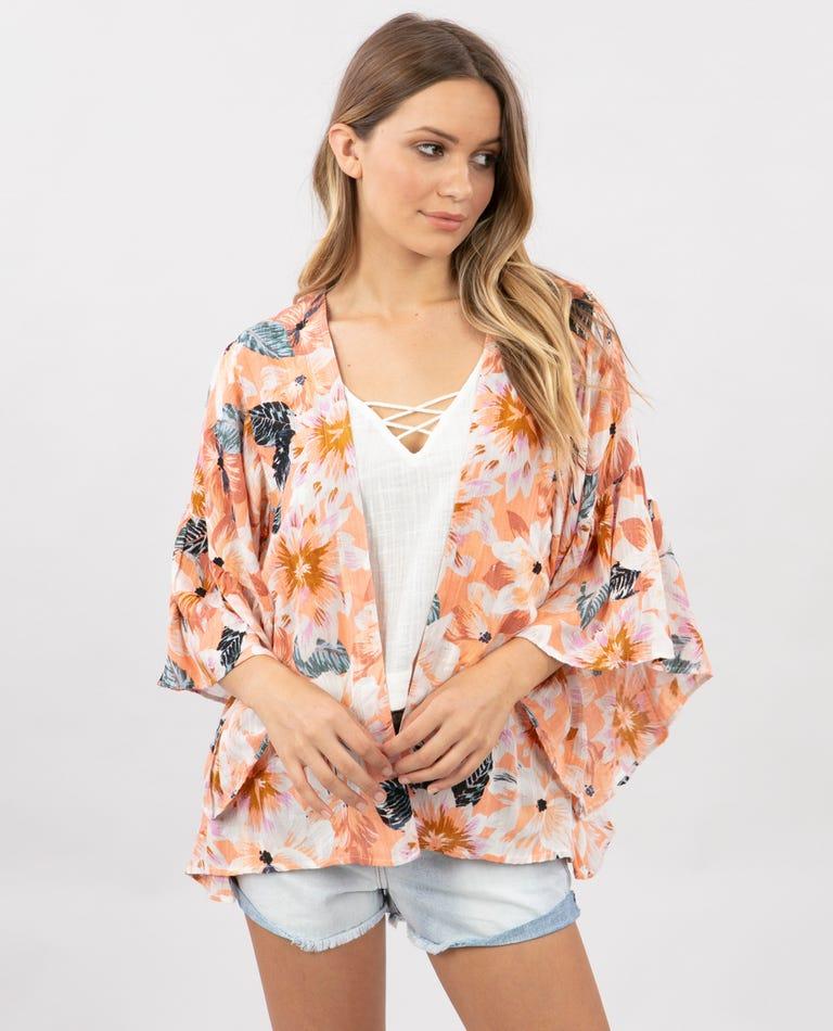 Super Bloom Kimono in Multi