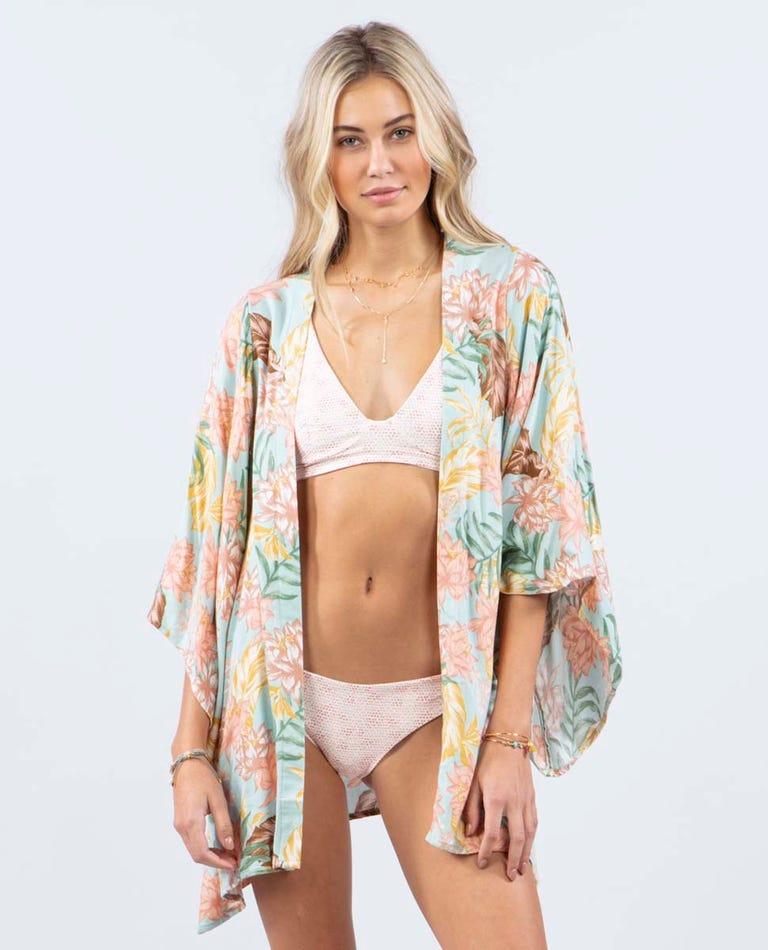 La Bonita Kimono in Teal