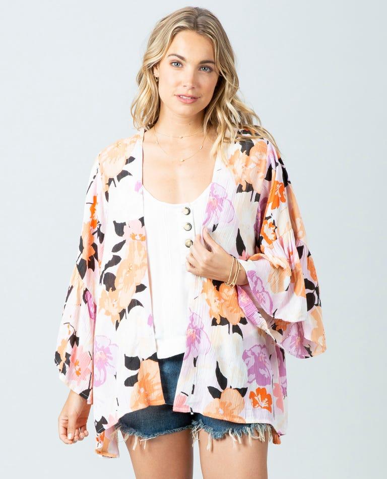Lakeshore Kimono in Lilac