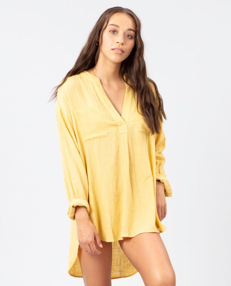 Classic Surf Shirt in Gold