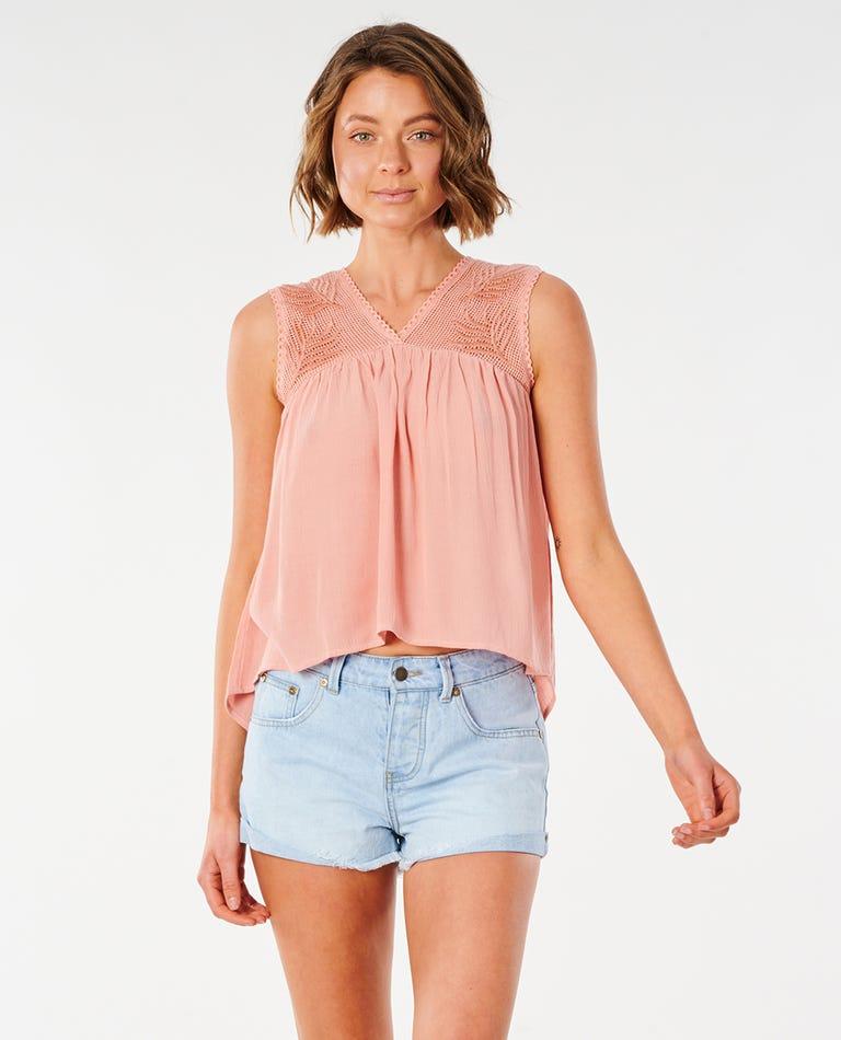 Ava Shirt in Clay