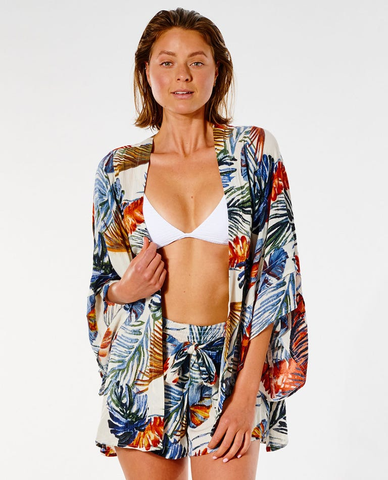 Sayulita Kimono in Bone