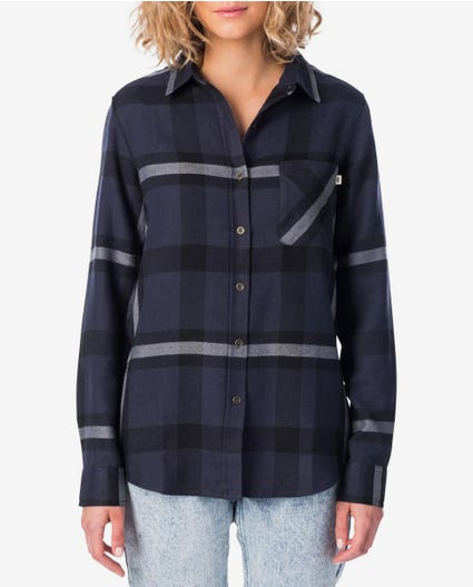 Aquilla Long Sleeve Shirt in Black