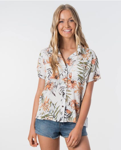 Playa Blanca Party Shirt in White