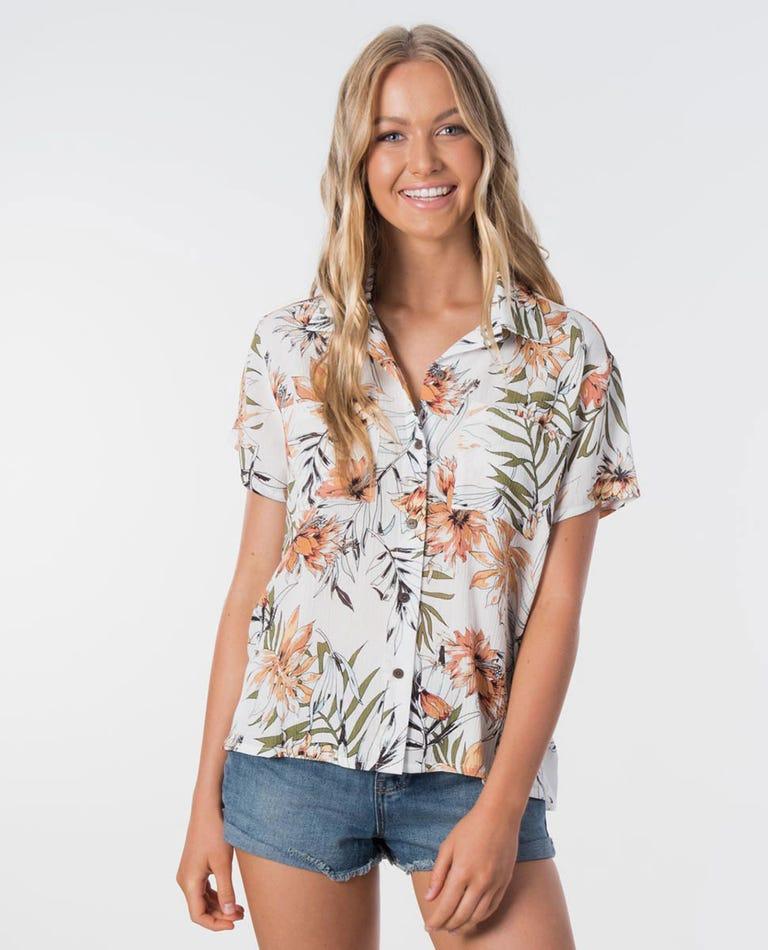 Playa Blanca Party Shirt in White
