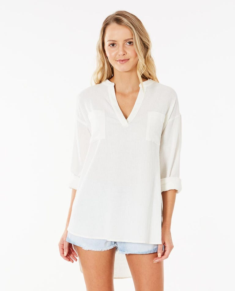 Kova Long Sleeve Shirt in White