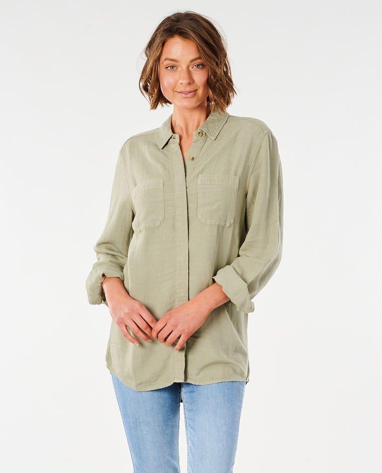 Panoma Shirt in Stone Green