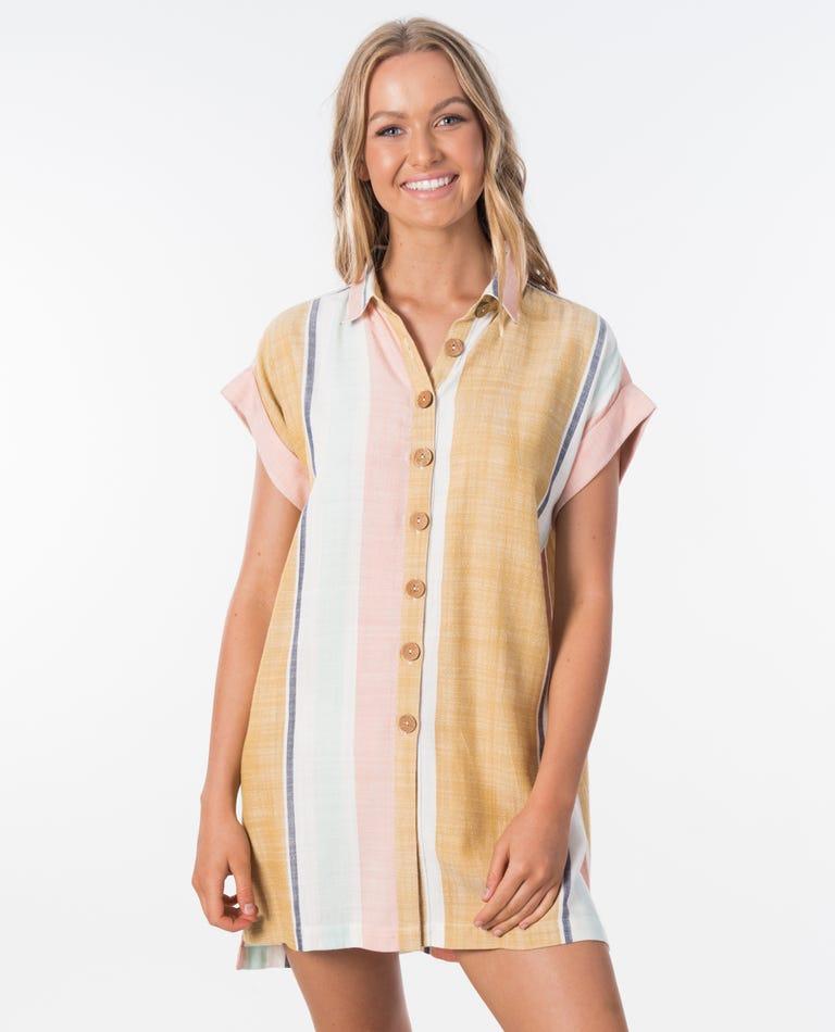 Sunsetters Stripe Shirt in Multi