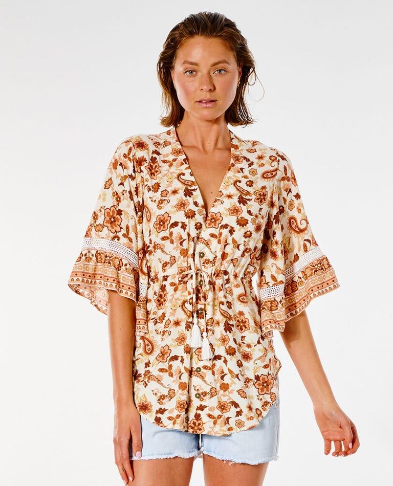 Desert Dawn Kimono in Cream