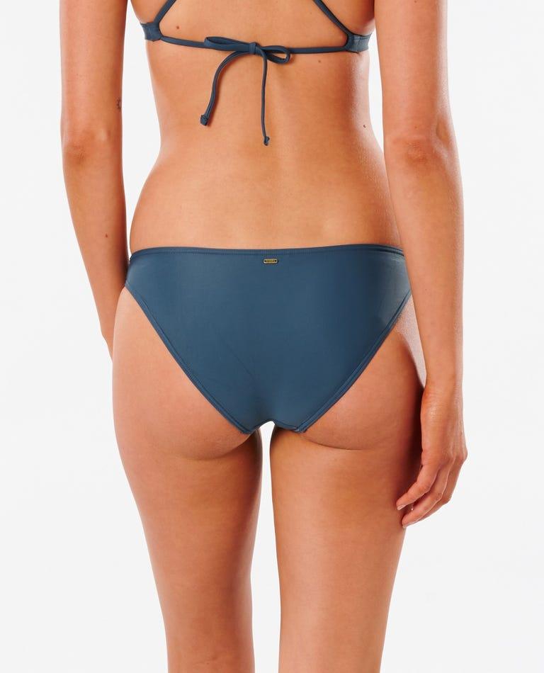 Classic Surf Eco Full Bikini Bottom in Navy