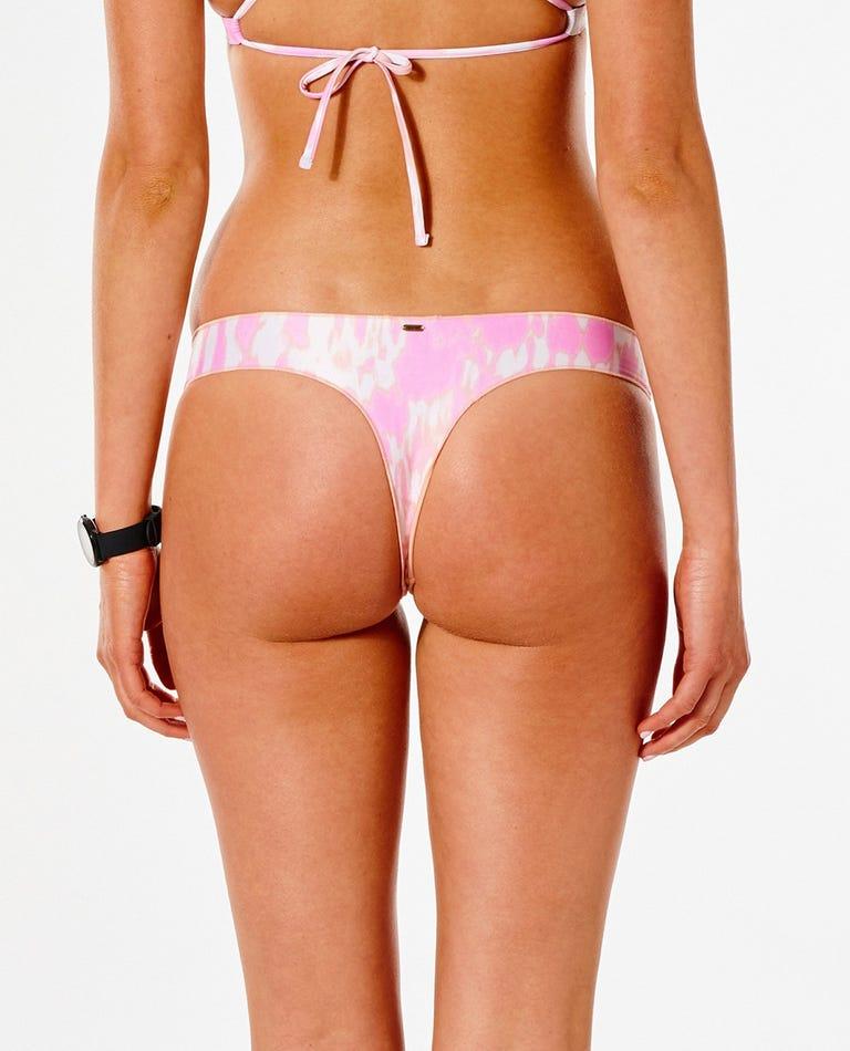 Classic Surf Eco Bare Bikini Bottom in Pink