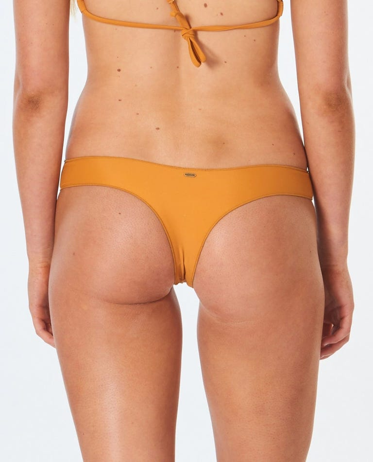 Classic Surf Eco Bare Bikini Bottom in Honey