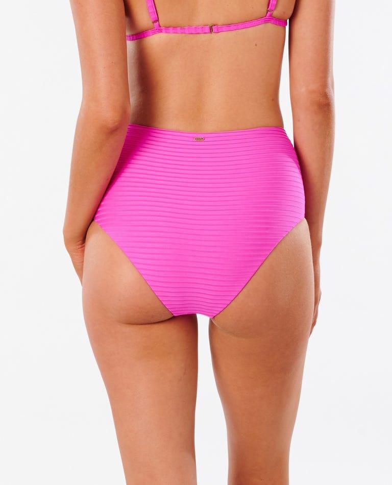 Premium Surf High Waist Good Bikini Bottom in Pink