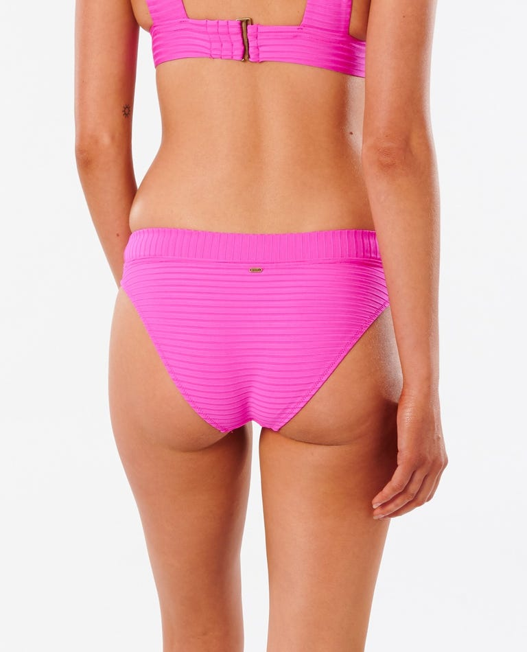 Premium Surf Full Bikini Bottom in Pink