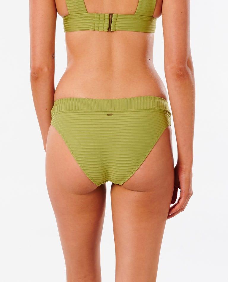 Premium Surf Full Bikini Bottom in Green