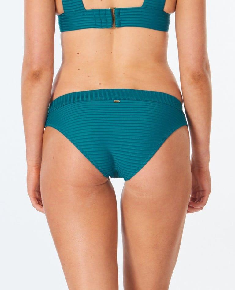 Premium Surf Full Bikini Bottom in Jade