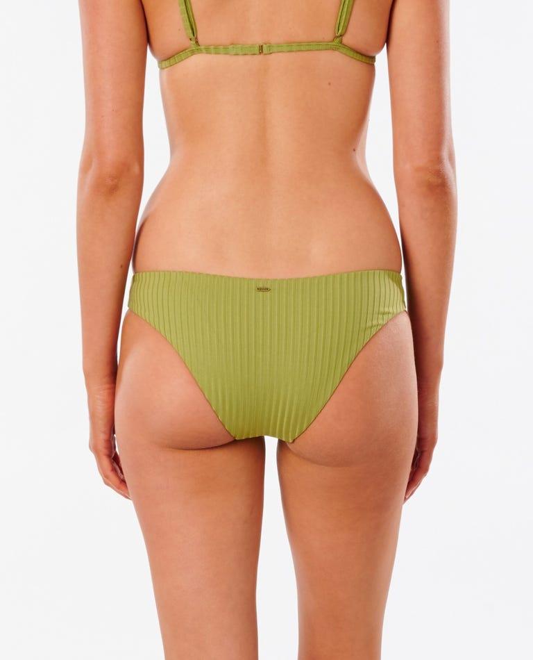 Premium Surf Cheeky Bikini Bottom in Green