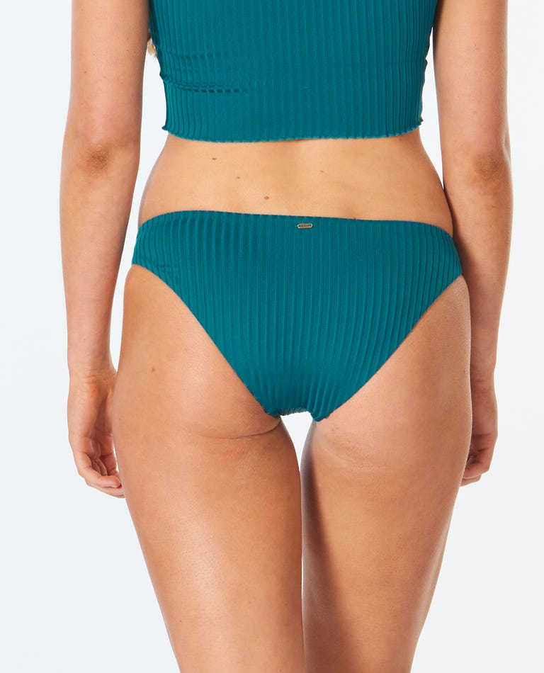 Premium Surf Cheeky Bikini Bottom in Jade