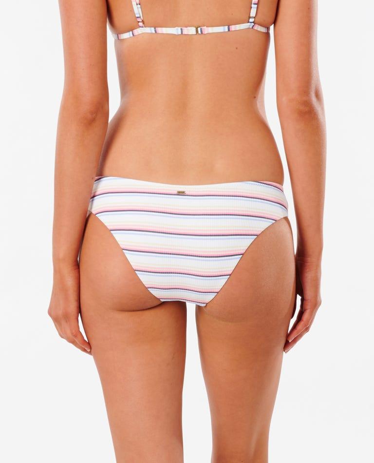 Golden State Cheeky Hipster Bikini Bottom in Bone