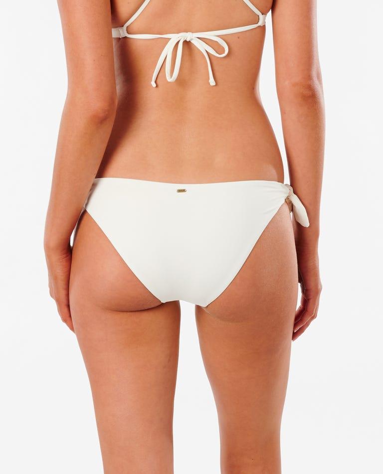 Golden State Tie Side Good Bikini Bottom in Bone