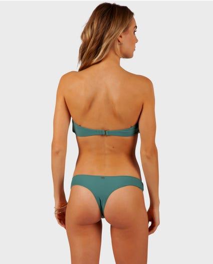 Classic Surf Bare Bikini Bottom in Black