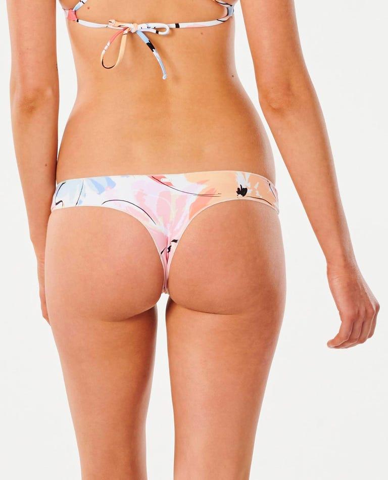 Blossom Bare Coverage Bikini Pant in Cream