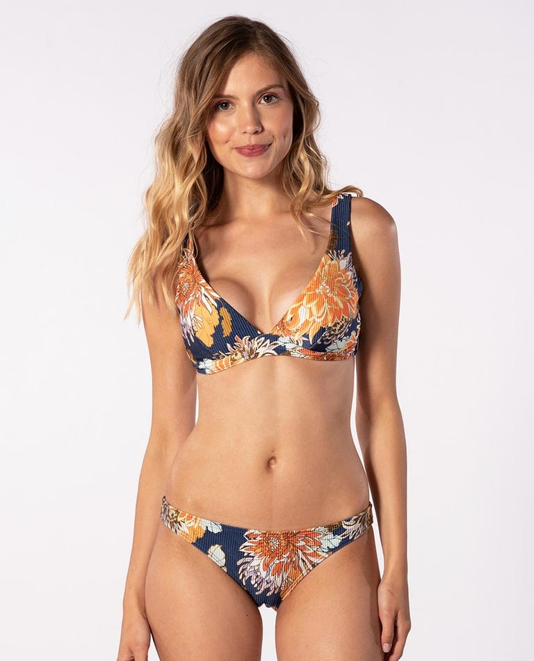 Sunsetters D-DD Cup Bikini Top in Dark Blue