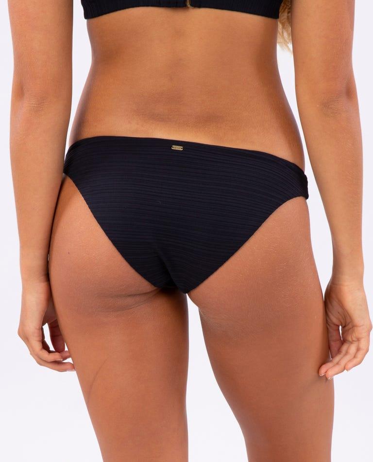 Premium Surf Good Bikini Pant in Black