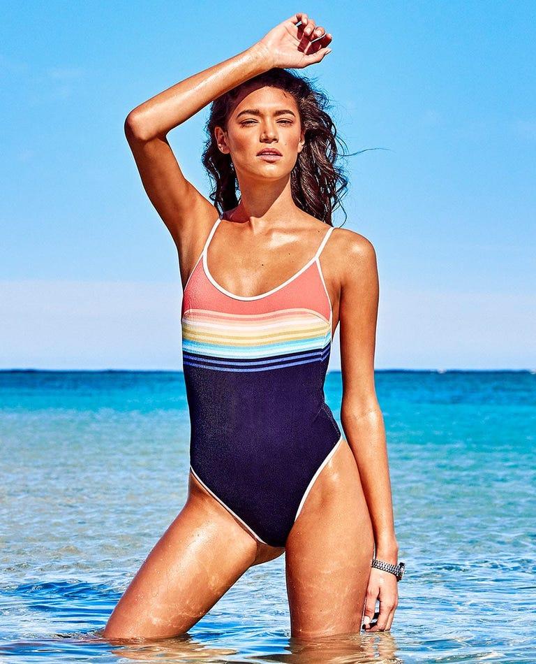 Sayulita Stripe Good Coverage Bikini Top