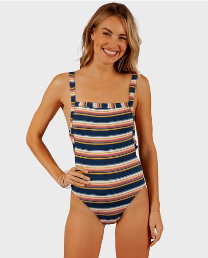 Throwback Good One Piece in Navy