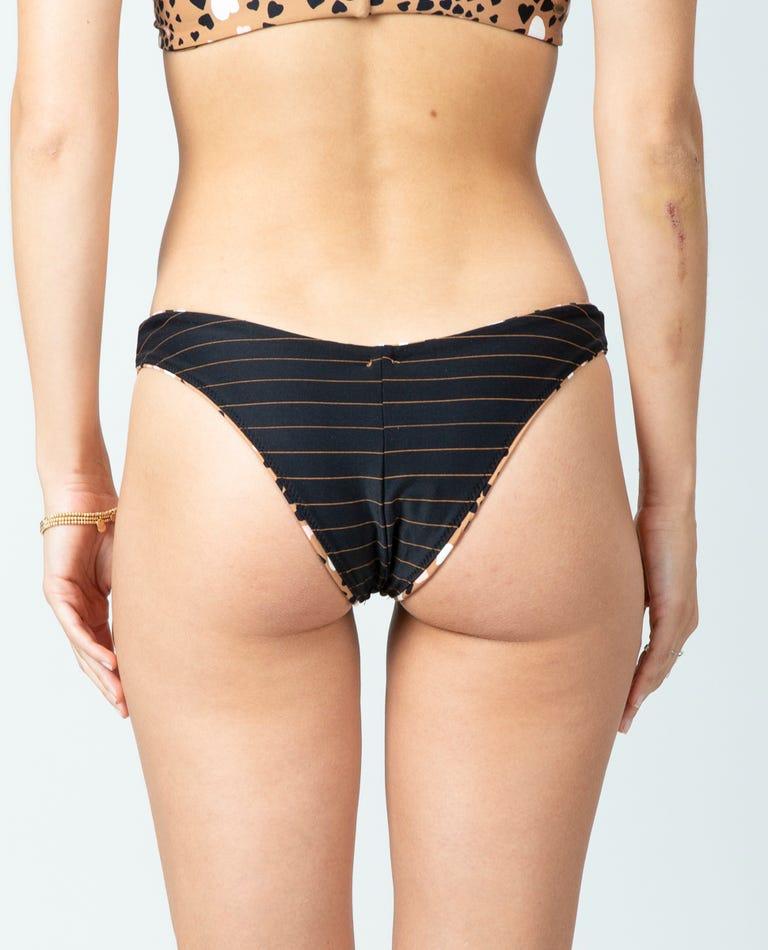Lovestruck Revo Skimpy Hi Leg Bikini Bottom in Natural