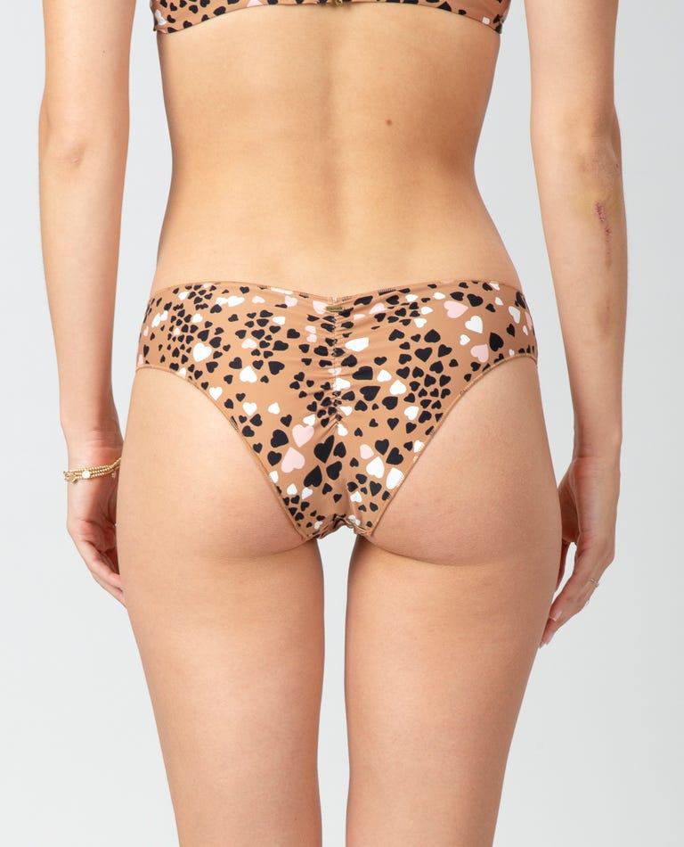 Lovestruck Cheeky Hipster Bikini Bottom in Natural
