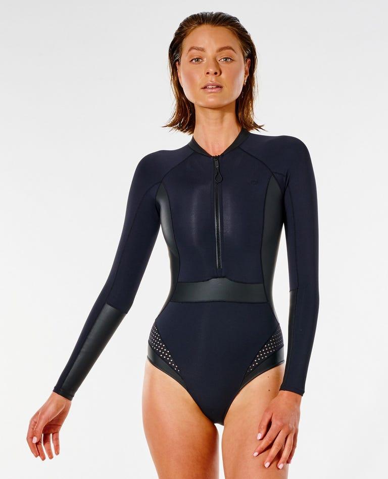 Mirage Ultimate Long Sleeve Surf Suit in Black