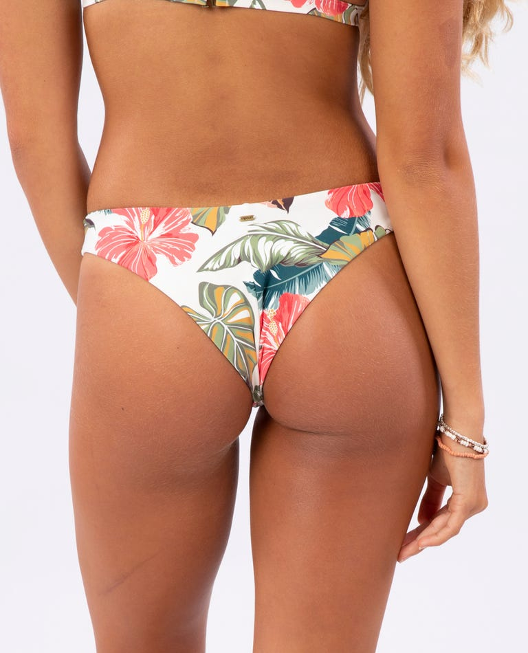 Tropic Coast Skimpy Revo Bikini Bottom in Hot Coral