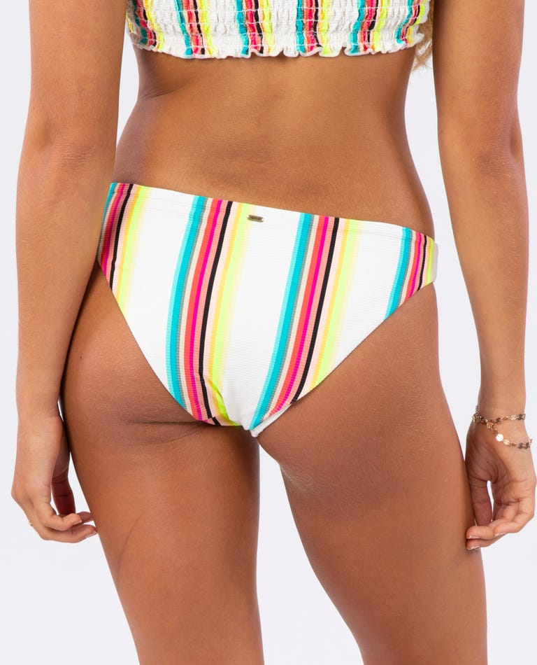 Outshine Cheeky Hipster Bikini Bottom in Multico