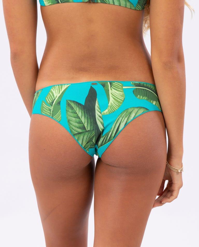 Coco Beach Cheeky Hipster Bikini Bottom in Turquoise