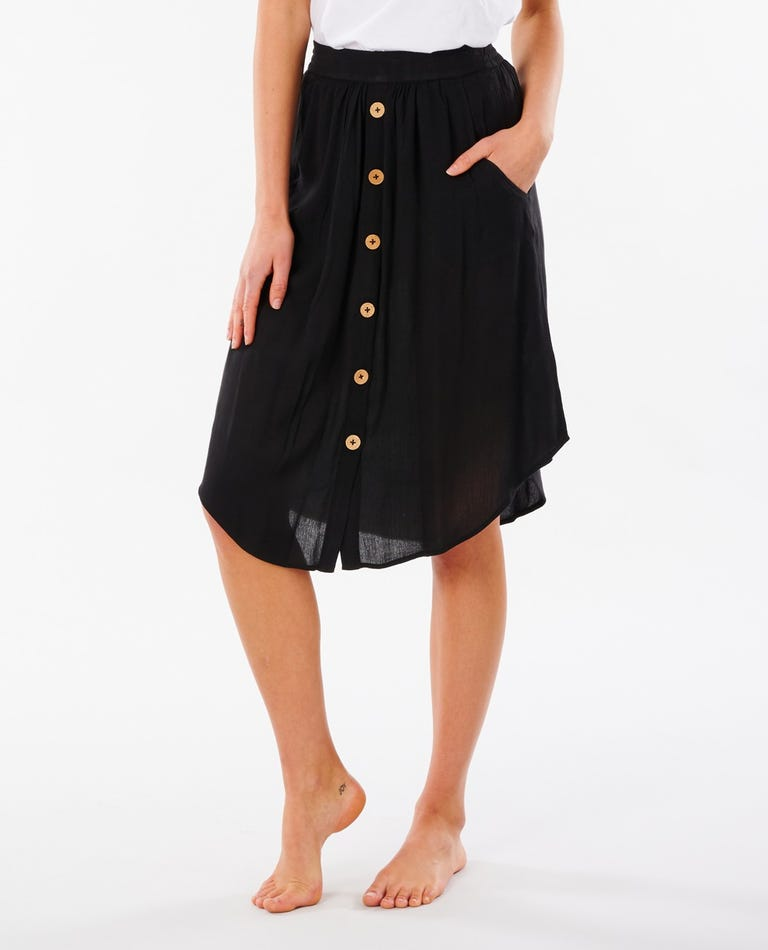 Classic Surf Skirt in Black