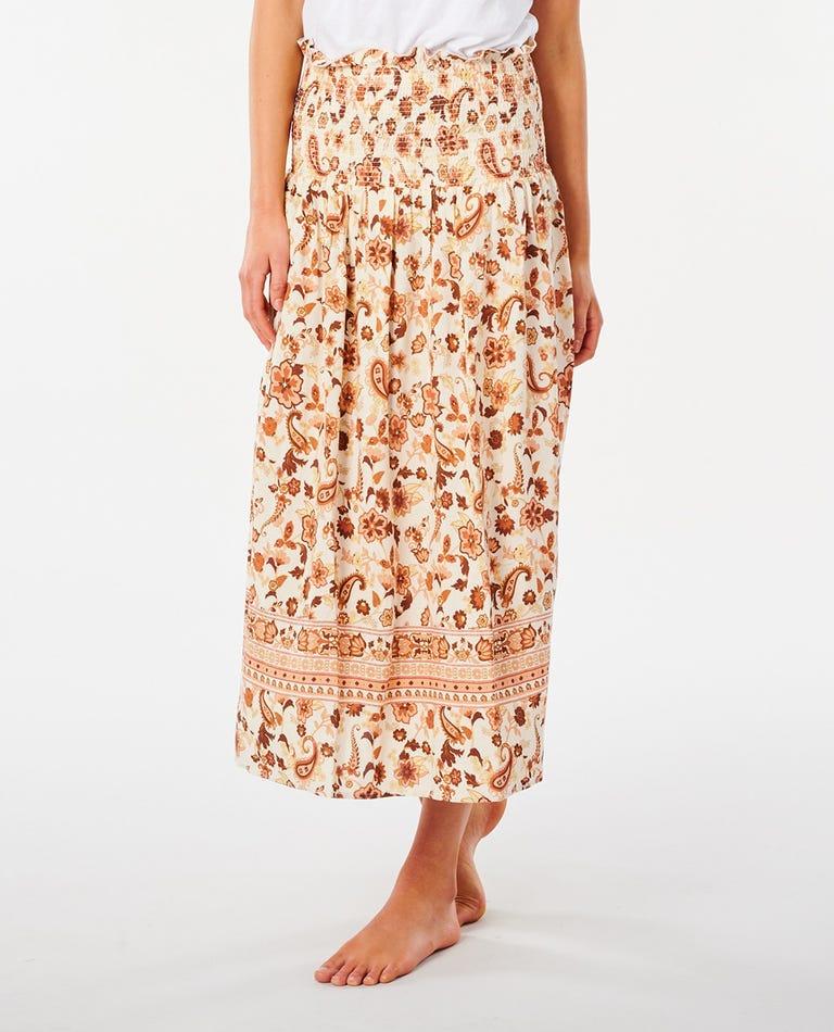 Desert Dawn Skirt in Cream
